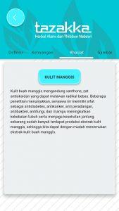 foto gambar halaman khasiat aplikasi android google play store produk herbal tazakka