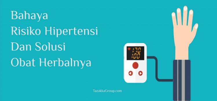 Penyakit Tekanan Darah Tinggi Dan Solusi Obat Herbalnya.