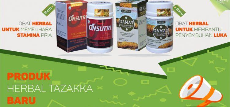 Produk Baru Herbal Tazakka Gamat Untuk Luka Dan Onsutri Formen Obat Stamina Pria.
