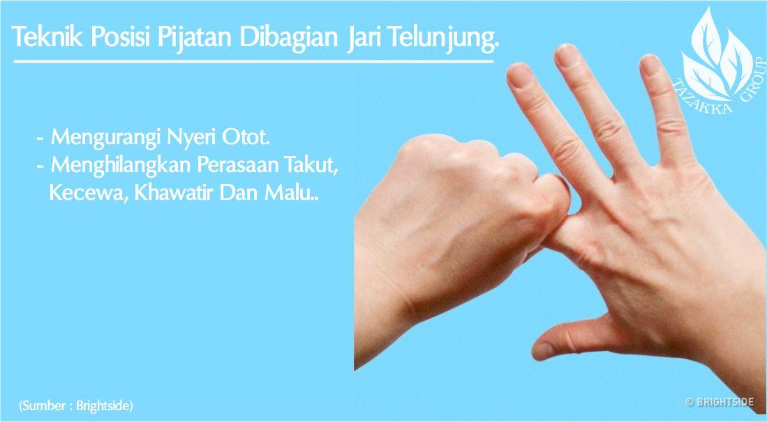 foto gambar Teknik Pijatan jari Tangan- Teknik Posisi Pijatan Dibagian Jari Telunjung.-min