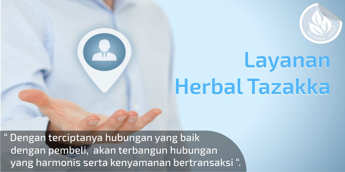 contoh banner foto gambar banner layanan yang disediakan pihak herbal tazakka group untuk para pelanggan demi membangun kedekatan dengan pelanggan dan terciptanya hubungan yang harmonis.