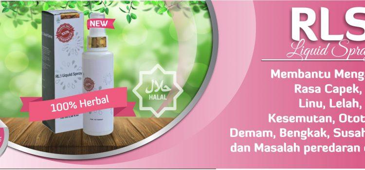 Obat Spray Praktis Herbal RLS Tazakka Untuk Membantu Mengatasi Keluhan Kesehatan Anda.