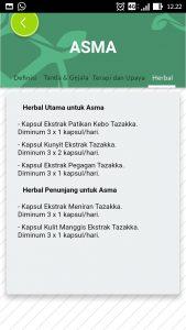 foto gambar halaman herbal aplikasi android google play store resep herbal tazakka