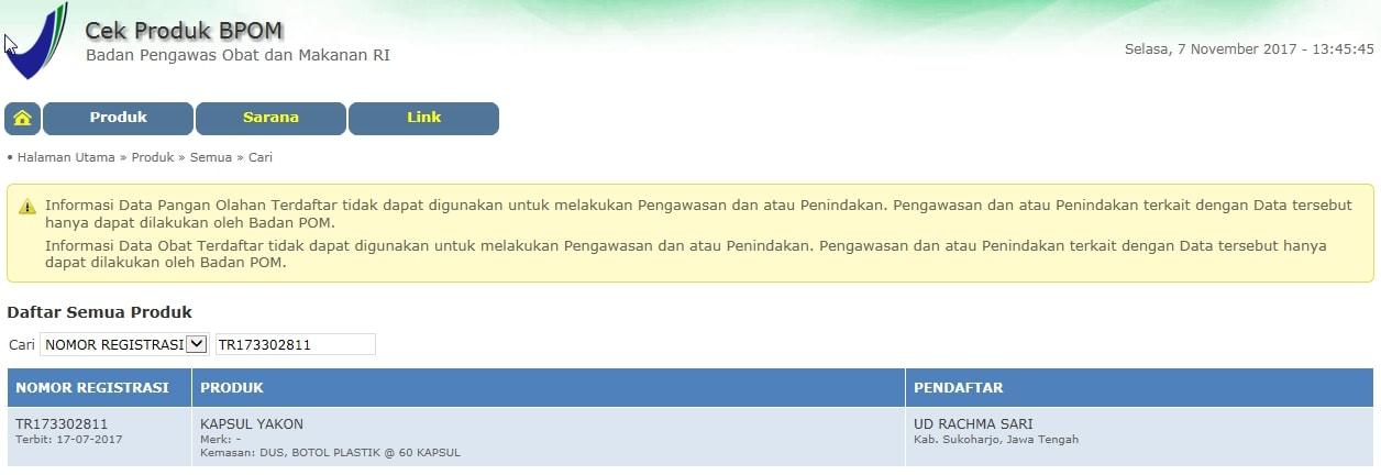 foto gambar Mengecek apakah produk herbal tazakka sudah terdaftar di bpom dan memiliki izin edar bagian 2