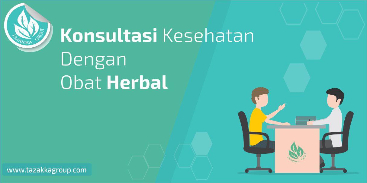 foto gambar layanan konsultasi online tazakka seputar kesehatan dengan herbal alami