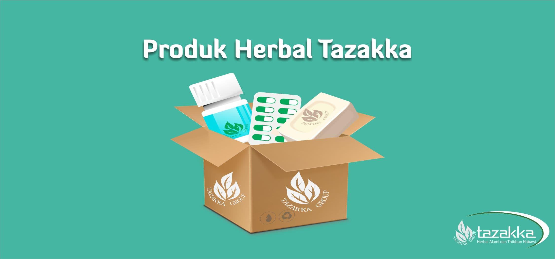contoh foto banner website postingan produk herbal tazakka di web , gambar baru