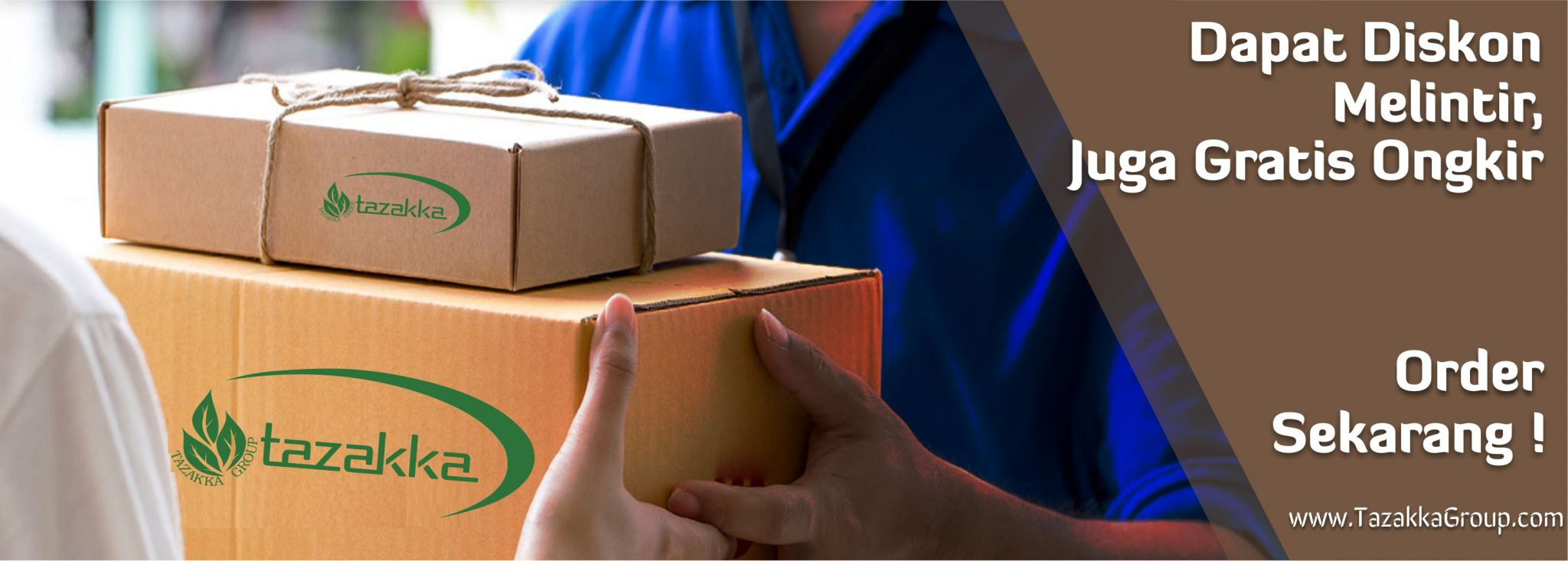 contoh foto gambar banner layanan jasa pengiriman paket gratis free ongkir