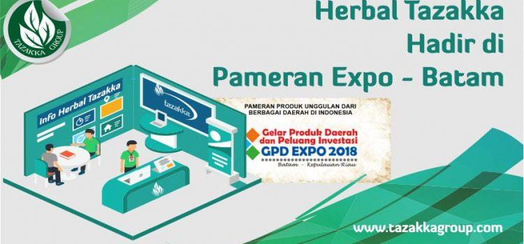 Herbal Tazakka Di Acara Pameran GPD Expo 2018 Batam Kepulauan Riau.