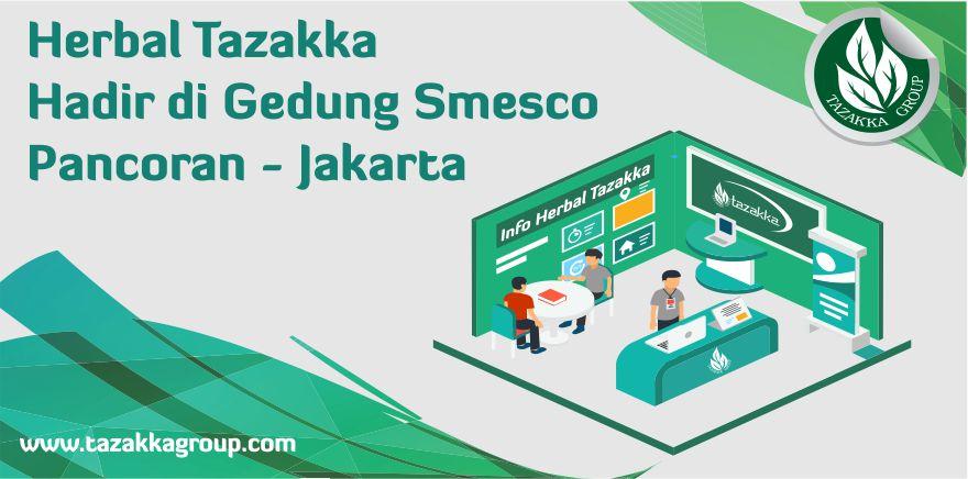 stand pameran herbal tazakka di Gerakan UMKM Jamu Berdaya Saing Dan Herbal Indonesia Expo 2018 Pancoran Jakarta Gedung Smesco
