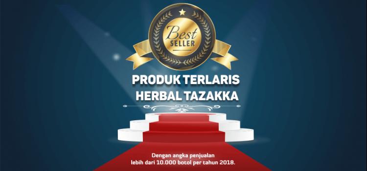 Ini produk terlaris Best seller Herbal Tazakka di tahun 2018