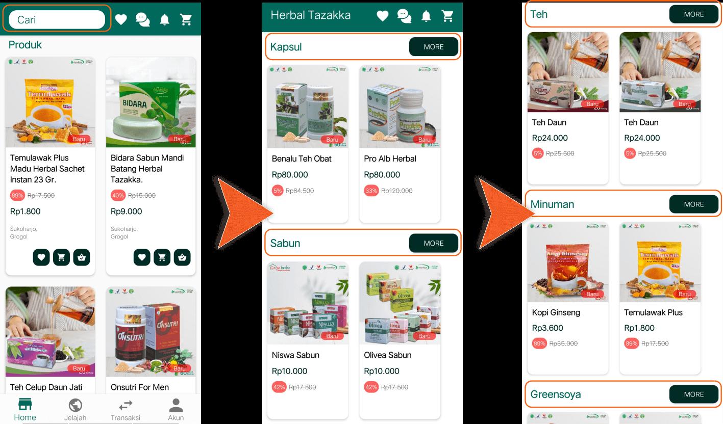 Aplikasi Android Toko Online Shop Herbal Tazakka Store Cara Memilih Produk