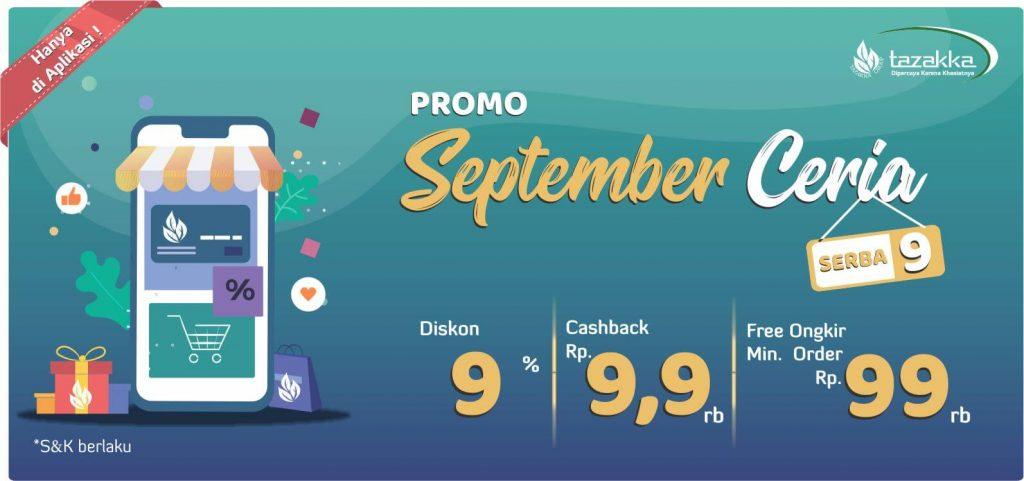 promo bulan september ceria 2019 voucher belanja gratis herbal tazakka