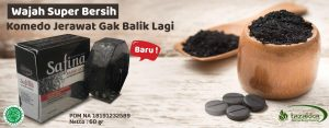 sabun arang herbal tazakka charcoal activated