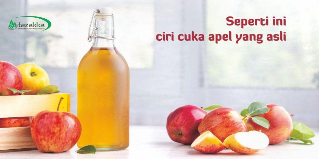 cara memilih dan membedakan cuka apel yang asli dan palsu - Herbal Tazakka