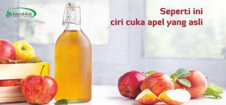 7 Cara Memilih Cuka Apel Yang Asli.