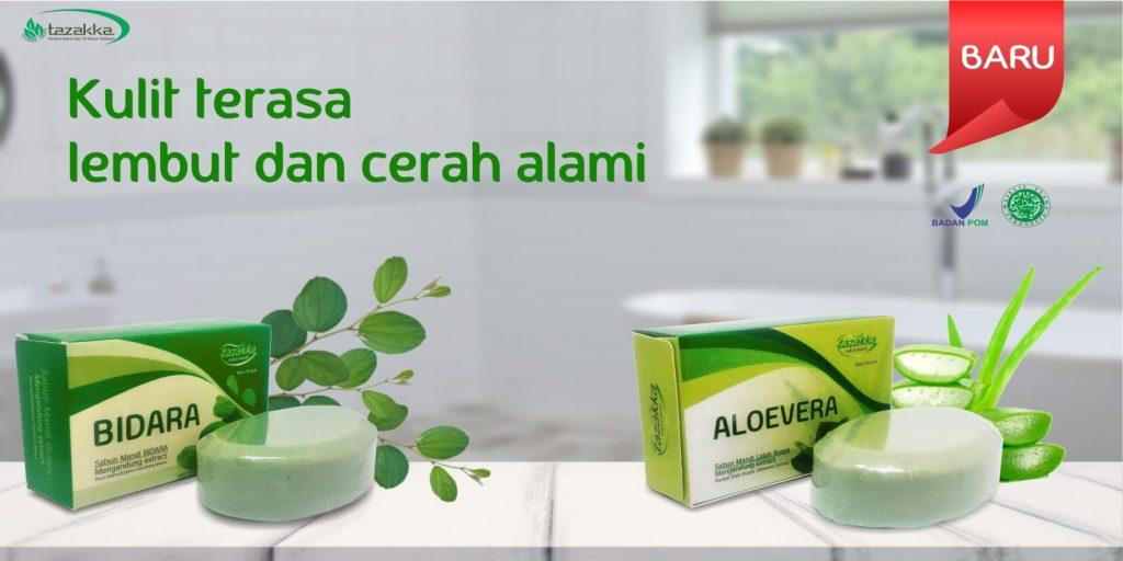 Sabun Bidara dan aloe vera
