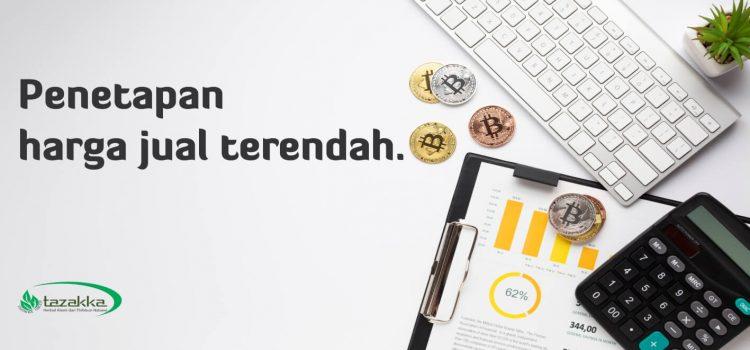 Aturan penetapan harga jual online produk Herbal Tazakka