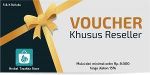 Voucher Belanja Online Khusus Member Reseller Aplikasi