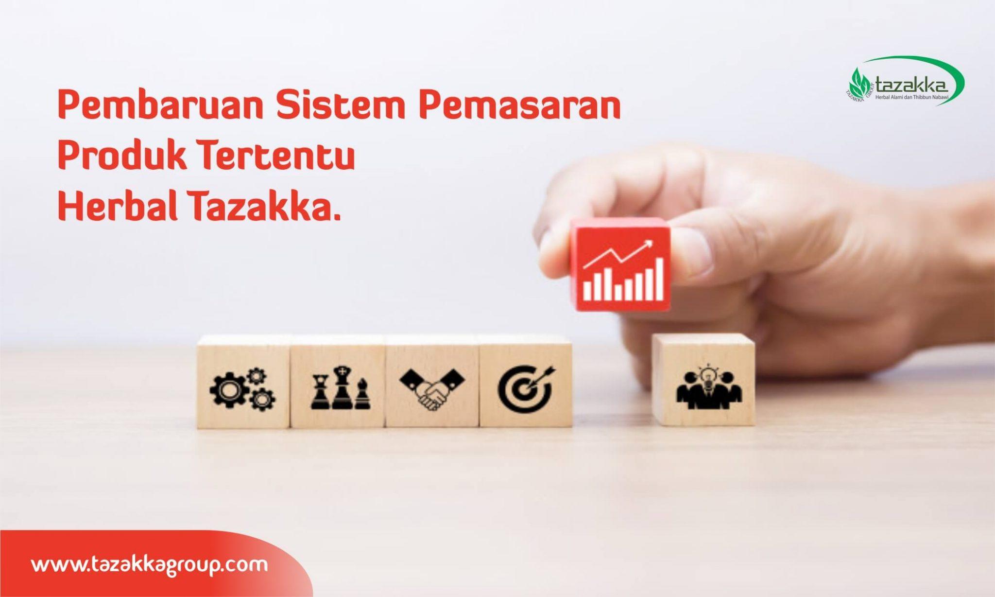direct selling strategi marketing herbal tazaka