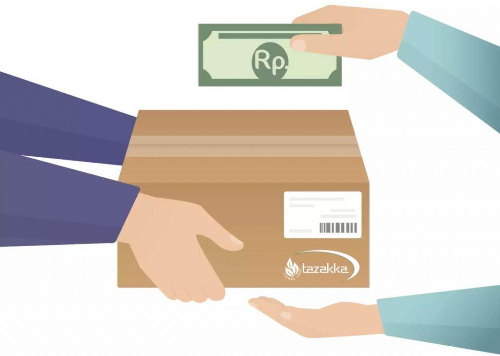 cod cash on delivery bayar ditempat
